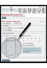 RedHeader PRO™ Lookup Tool