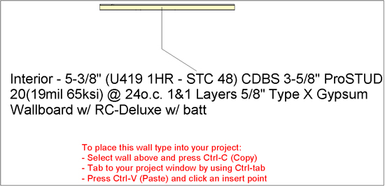 ClarkDietrich Wall Type Creator Help   ClarkDietrich Building Systems