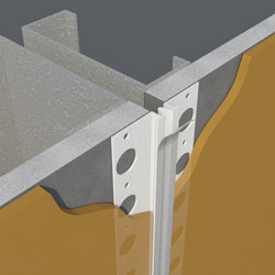 Vinyl Control Joint W Tape Clarkdietrich Building Systems