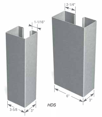 HDS® Stud Profile Info | ClarkDietrich Building Systems