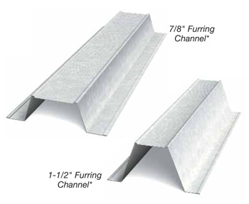 Furring Channel Hat Channel Clarkdietrich Building Systems